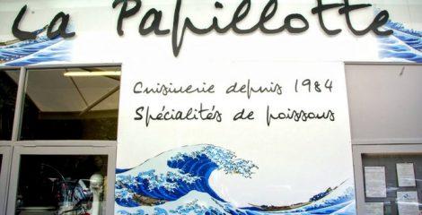 Restaurant la Papillotte spécialité de poissons au Havre